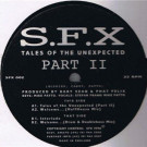 S.F.X. - Tales Of The Unexpected (Part II) - SFX - SFX 002