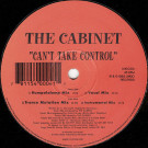 The Cabinet - Can't Take Control - Lingo Records - LNG 006