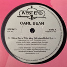 Carl Bean - I Was Born This Way - West End Records - WEBMG07RX