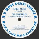Wladimir M - Evil / Planet E (Skee Mask Remix) - Delsin - DSR/EEVO004