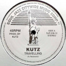 Kutz - Travelling / Static - Soul Jazz Records - SJR 208-12
