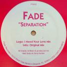 Fade - Separation - Fade Records - FD002