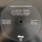 Luke Vibert  /  Posthuman - Unitary Covert Sonic Procedures II - Balkan Vinyl - BV36