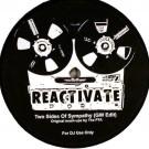 Greg Wilson - Two Sides Of Sympathy (GW Edit) / Hypnotise (GW Version) - Reactivate - REACTIVATE 2