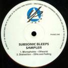 Various - Subsonic Bleeps Sampler - Upfront - UP FRONT PROMO