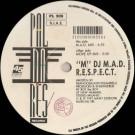 M DJ M.A.D. - R.E.S.P.E.C.T. - Palmares Records - PL 309