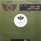 X-It - Keep The Party Goin' - MG Records - MG 66012
