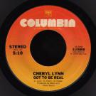 Cheryl Lynn - Got To Be Real - Columbia - 3-10808