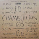 Ed Chamberlain - 03/06 - Lapsus Records - LPS-PS08