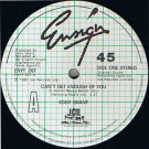Eddy Grant - Can't Get Enough Of You - Ensign - ENYT 207, Ice - ENYT 207
