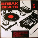 The Original Unknown DJ's - Break Beats 5 - Warrior Records - WRRLP 016