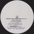 Alton Miller - Choose To Believe - Deeper Soul - DSR-002