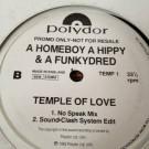 A Homeboy, A Hippie & A Funki Dredd - Temple Of Love - Polydor - TEMP 1