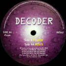 Decoder - Pushin' / Nosis - RuffNeck Ting Records - RNT007