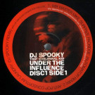 DJ Spooky - Under The Influence - Blue Juice - BJ O11A, Six Degrees Records - BJ O11A, Blue Juice - BJ-011A, Six Degrees Records - BJ-011A