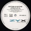 Rhythim Is Rhythim - Strings Of Life '89 - ZYX Music - ZYX 6263-12