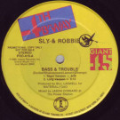 Sly & Robbie - Bass & Trouble - 4th & Broadway - PRO-416