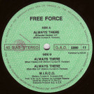 Free Force - Always There / M.I.R.C.O. - Action 4 Action - G.A.D. 23590 11