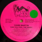 Dawn Martin - Can You Feel The Music - Maxi Records - MX-2000