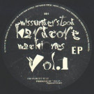 M.C.P. - Missunderstood Hardcore Machines Vol.1 EP - Fischkopf Hamburg - fisch004