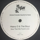 Heavy D. & The Boyz - Now That We Found Love - MCA Records - WMCST 1550