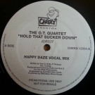 The O.T. Quartet - Hold That Sucker Down (Remixes) - Cheeky Records - CHEKX 12004 A