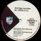 Rhythm Factory by Roberto Lodola - Gotta Have Your Own Style - Beat Club Records - BCR 001990