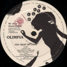 Olimpia - You Want My Love - Meeting Records - ME 101