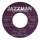 The Deirdre Wilson Tabac - I Can't Keep From Crying Sometimes / Get Back - Jazzman - JM.025