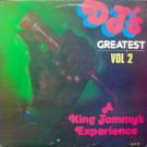 Various - Dj's Greatest Vol 2 - A King Jammy's Experience - Live And Love - LALP 27
