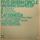 Five Green Circle - Growing Shapes EP - D1 Recordings - DONE028