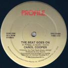 Carol Cooper - The Beat Goes On - Profile Records - PRO-7049