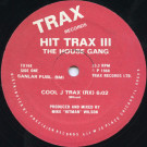 The House Gang - Hit Trax III - Trax Records - TX168