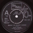 Stevie Wonder - Boogie On Reggae Woman - Tamla Motown - TMG 928