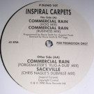 Inspiral Carpets - Commercial Rain - Mute - P DUNG 10T