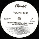 Young MC - That's The Way Love Goes - Capitol Records - 12 CLDJ 623