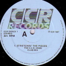 C.C.R. Crew, The - Stretchin' The Pieces - Circle City Records - CCR DANCE 1