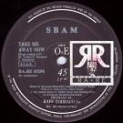 S-Bam - Take Me Away Now - RA - RE Productions - RA.RE 05290