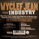 Wyclef Jean - Industry - J Records - 82876-56541-1