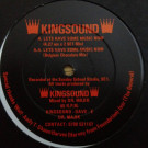 Kingsound - Let's Have Some Music Now - Cherry Records - KINGSOUND PP I