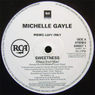 Michelle Gayle - Sweetness - 1st Avenue Records - SWEET 1, RCA - SWEET 1