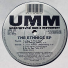 The Ethics - The Ethnics EP - UMM - UMM 175