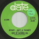 Clefs Of Lavender Hill - Stop! - Get A Ticket / First Tell Me Why - date - 2-1510