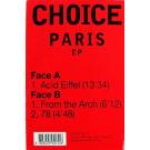 Choice - Paris EP - Fnac Music Dance Division - 590155
