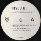 Disco D - A Night At The Booty Bar - Tommy Boy - TB 2398-0P