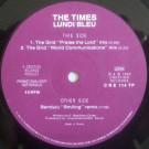 The Times - Lundi Bleu - Creation Records - CRE 114 TP