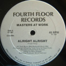 Masters At Work - Alright Alright - Fourth Floor Records - FF 587