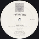 Larry Heard Presents: Chad White - You Rock Me / The Sun Can't Compare - Alleviated Records - ML-2225