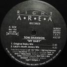 Toni Shannon - My Baby - Right Area Records - RA-134