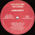 Armando - Overload - Housetime Records - HT1016